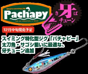 PACHAPY 牙チューンのご紹介